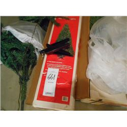3 Artificial Christmas Trees/ one new
