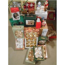 New Christmas Ornament Lot/Mostly New