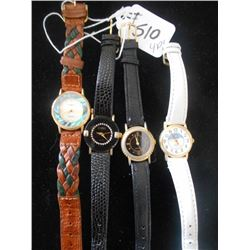 4 Ladies Quartz Watches