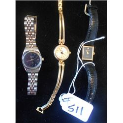3 Ladies Dress Watches