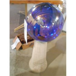 Glass Garden Ball (like new)