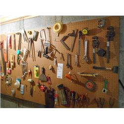 Loaded Huge Tool lot on wall