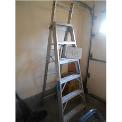 6ft Combo Aluminum Step Ladder (like new)
