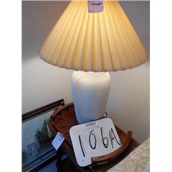 Southwest Style Stoneware Table Lamp/ Like New