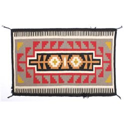 Exceptional Navajo Chinle Pattern Wool Rug c.1900-