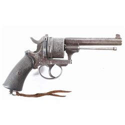 Engraved European .45 Cal Officer's DA Revolver