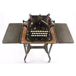 "Oliver No. 5 ""Fiver"" Typewriter w/ Table c.1913"