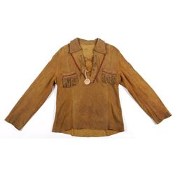 Apache Native American Leather Scout Jacket
