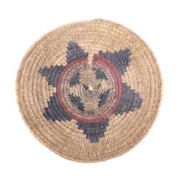 Navajo Traditional Coil Wedding Basket 19th C.