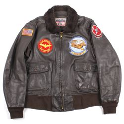 Excelled Vietnam Era US Navy Pilots Bomber Jacket