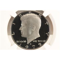 1979-S TYPE 2 KENNEDY HALF DOLLAR NGC PF69