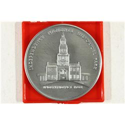 "2"" INDEPENDENCE NATIONAL HISTORICAL PARK MEDAL"