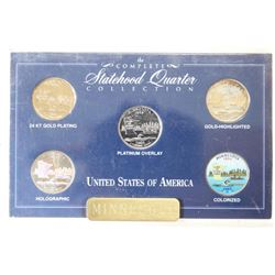 STATEHOOD QUARTER COLLECTION MINNESOTA 24KT