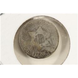 1852 THREE CENT PIECE (SILVER)