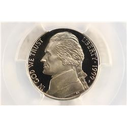 1999-S JEFFERSON NICKEL PCGS PR69 DCAM