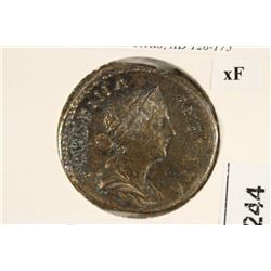 128-175 A.D. FAUSTINA II ANCIENT COIN VERY FINE