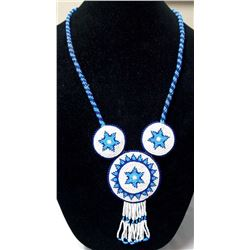 Plains Indian Traditional Beaded Necklace