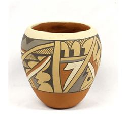 Native American Jemez Pottery Jar by Chinana