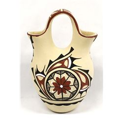 Jemez Pottery Wedding Vase by Chinana
