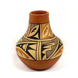 Native American Jemez Pottery Jar by D. Tosa