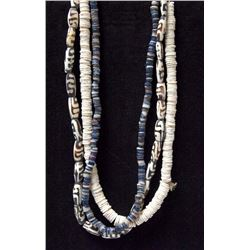 3 Trade Bead Necklaces