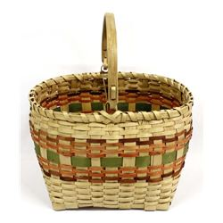 Large Native American Penobscot Basket