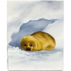 Original Seal Pup Painting