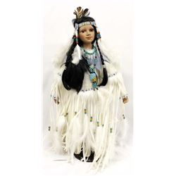 Golden Keepsake Plains Indian Collector Doll