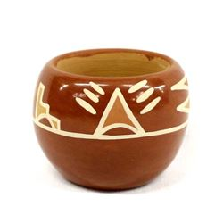 Native American Santa Clara Pottery by M. Sisneros