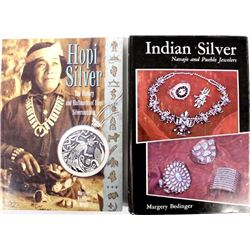 2 Reference Books on Native American Silver
