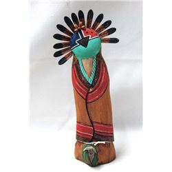 Hopi Ahola Germination Kachina by Harry Nequatewa