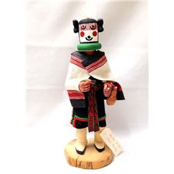 Hopi Hahai-i Wuhti Kachina by Clara Loretta Pooley
