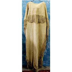 Native American Nez Perce Buckskin Dress