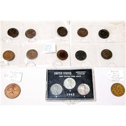Collection of Antique & Vintage Coins