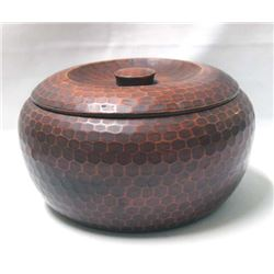 Japanese Carved Hardwood Bowl