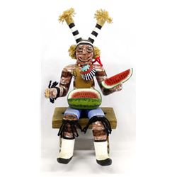 Hopi Koshare Watermelon Clown Kachina by Healing