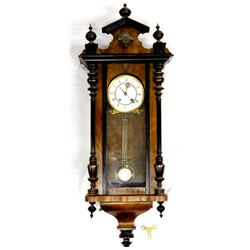 19th Century Carl Wermer German Clock