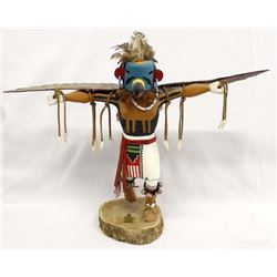 Hopi Kwahu Eagle Kachina by The Silver Fox
