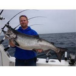 2-day Lake Michigan fishing charter with lodging for 4