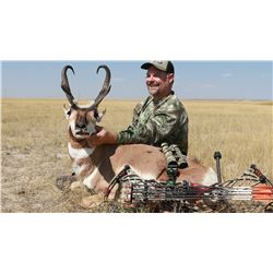 Wyoming Pronghorn Archery Hunt for 2