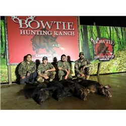 2-day Hog Hunt in Oklahoma for 2