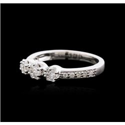 18KT White Gold 0.50 ctw Diamond Ring