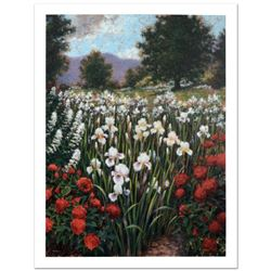Irises In A Meadow by Davis, Brian