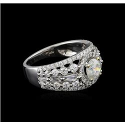 18KT White Gold 2.23 ctw Diamond Ring