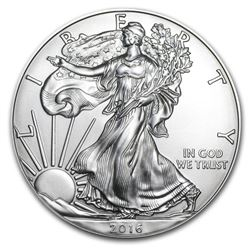 2016 Walking Liberty Silver Dollar Coin
