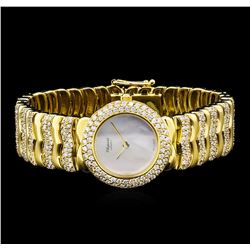 Chopard 18KT Yellow Gold 5.00 ctw Diamond Ladies Watch