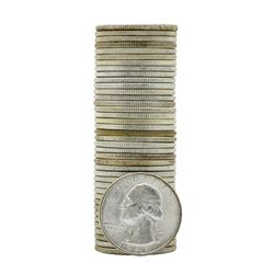 Roll of (40) 1949-D Brilliant Uncirculated Washington Quarters