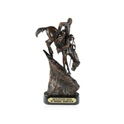 Mountain Man Bronze Replica By Frederic Remington