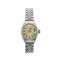 Rolex Stainless Steel Ladies Vintage Date Model Watch