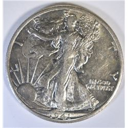 1941-S WALKING LIBERTY HALF DOLLAR, CH BU